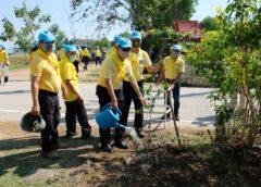 โครงการปลูกป่าเฉลิมพระเกียรติ เนื่องในโอกาสมหามงคลพระราชพิธีบรมราชาภิเษก ครบรอบ 1 ปี